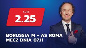 Borussia Monchengladbach vs AS Roma – Mecz Dnia zapowiedź