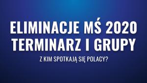 Eliminacje MŚ 2022 – terminarz i grupy. Z kim spotkają się Polacy?